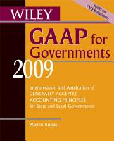 Wiley GAAP for Governments 2009 PDF