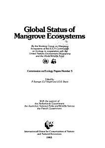 Global Status of Mangrove Ecosystems