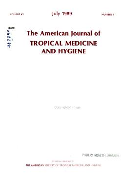 The American Journal of Tropical Medicine and Hygiene PDF