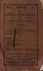 The Dental News Letter: Volume 11, Issue 1