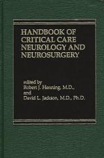 Handbook of Acute Critical Care Neurology