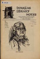 Douglas Library Notes PDF
