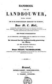Handboek voor den landbouwer