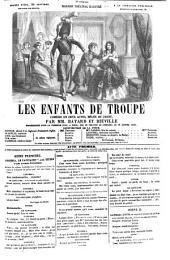 Les enfants de troupe: comédie en deux actes, mêlée de chant