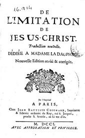 De l'imitation de Jesus-Christ