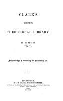 Commentary on Ecclesiastes PDF