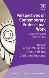 Perspectives on Contemporary Professional Work: Challenges and Experiences