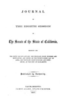 Journal of the     Session of the Legislature of the State of California PDF