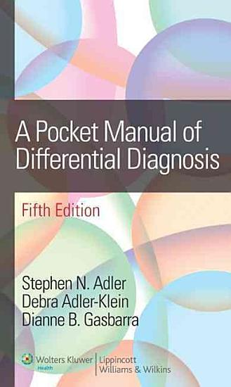 A Pocket Manual of Differential Diagnosis PDF