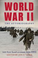 World War II  The Autobiography PDF