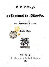 G.E. Lessing's gesammelte Werke, 10