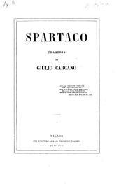 Spartaco. Tragedia