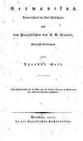 Germanikus: Trauerspiel in fünf Aufzügen, Ausgabe 6461