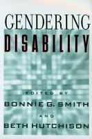 Gendering Disability PDF