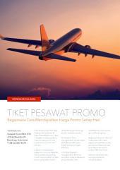 Tiket Pesawat online: Rahasia Mendapat Tiket Pesawat Murah