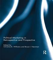 Political Marketing in Retrospective and Prospective PDF