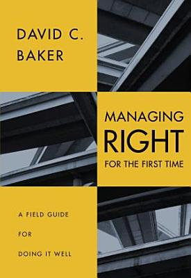 Managing  right  for the First Time