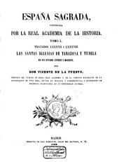 España sagrada: theatro geográphico-histórico de la iglesia de España ...