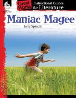 An Instructional Guide for Literature  Maniac Magee PDF