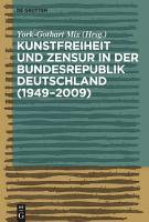 Kunstfreiheit und Zensur in der Bundesrepublik Deutschland PDF