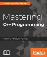 Mastering C   Programming PDF