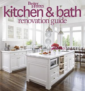 Better Homes and Gardens Kitchen and Bath Renovation Guide Book