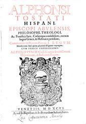 Commentaria in Reges: In Primam Partem, Volume 8, Issue 1
