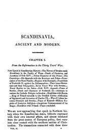 Scandinavia, ancient and modern: being a history of Denmark, Sweden and Borway