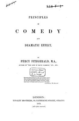 Principles of Comedy and Dramatic Effect PDF