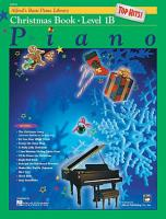 Alfred s Basic Piano Course  Top Hits  Christmas Book 1B PDF