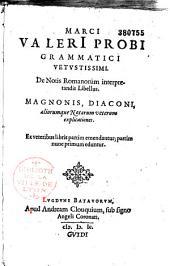 De notis Romanorum interpretandis libellus