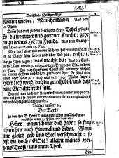 Gott ist das allerhöchste Gut: und stärckt, in Noth und Tod, den Muht: welches, bey der überaustraurigen, volckreichen und ansehnlichen Leichbegängnis des WolEdlen, Gestrengen, Fürsichtigen und Hochweisen Herrn, Carl Erasmus Tetzels, von und zu Kirchensittenbach ..., den 26. Martii dieses lauffenden 1667. Jahrs, in der Gottsacker-Kirchen zu S. Johannis, ... gezeiget worden