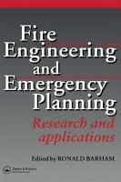 Fire Engineering and Emergency Planning PDF