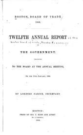 Annual report: Volume 12