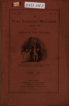 The Yale Literary Magazine PDF
