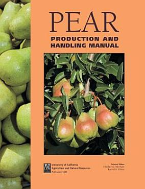 Pear Production and Handling Manual PDF