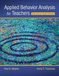 Applied Behavior Analysis For Teachers Interactive Ninth Edition Book PDF