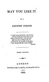 May you like it, by a country curate [C.B. Tayler].: Volume 2
