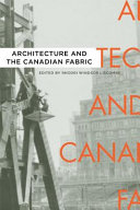 Architecture and the Canadian Fabric