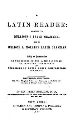 A Latin Reader PDF