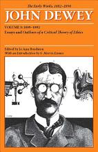 The Early Works of John Dewey  1882 1898 PDF