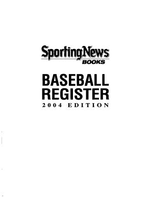 Baseball Register PDF