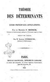 Theorie des determinants et leurs principales applications par F. Brioschi