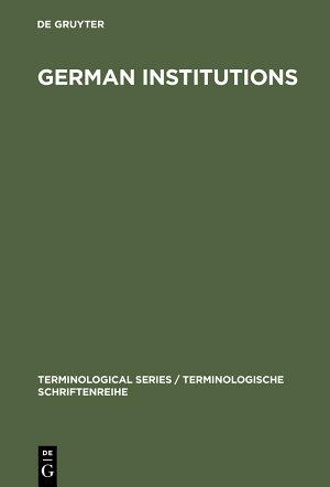 German Institutions