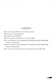 Official Gazette of the United States Patent Office: Volume 128