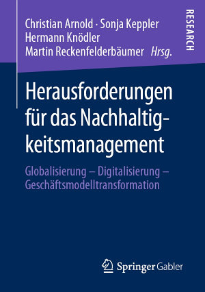 Herausforderungen f  r das Nachhaltigkeitsmanagement PDF