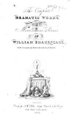 The Complete Dramatic Works  and Miscellaneous Poems  of William Shakspeare  With Glossarial Notes   Life  by N  Rowe   With a Portrait   PDF