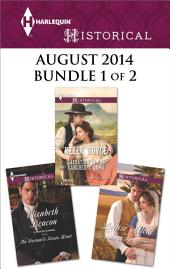 Harlequin Historical August 2014 - Bundle 1 of 2: Beguiled by Her Betrayer\Salvation in the Rancher's Arms\The Viscount's Frozen Heart