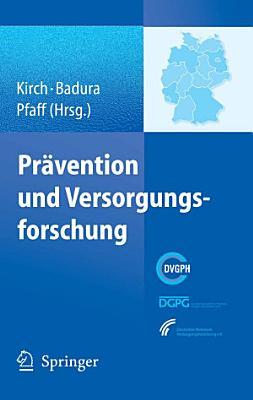 Pr  vention und Versorgungsforschung PDF