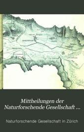 Mittheilungen der Naturforschende Gesellschaft in Zürich: Band 1